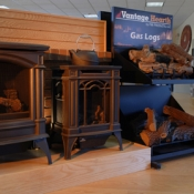 fireplace heat with wood