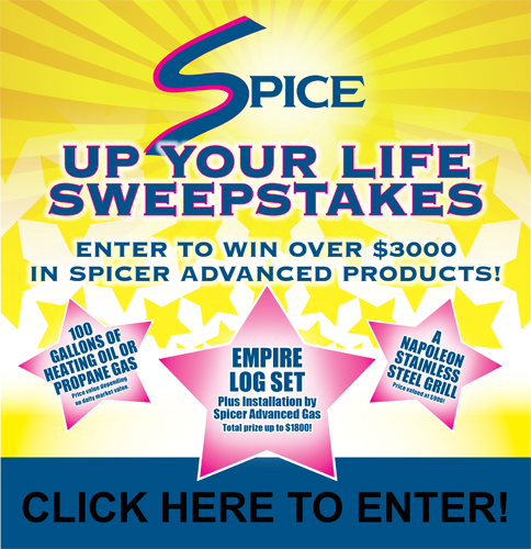 Spicer Gas Spice Up Your Life Sweepstakes